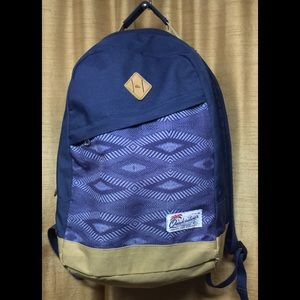 Quicksilver Navy Brown Backpack